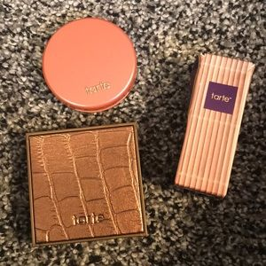 Tarte Bronzer, Feisty Blush, & Maracuja Oil